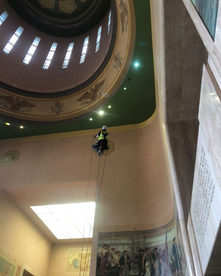 20180821 Rotunda Dome Artwork Restoration 3.1.JPG