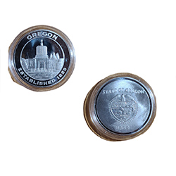Capitol Coin with plastic holder
