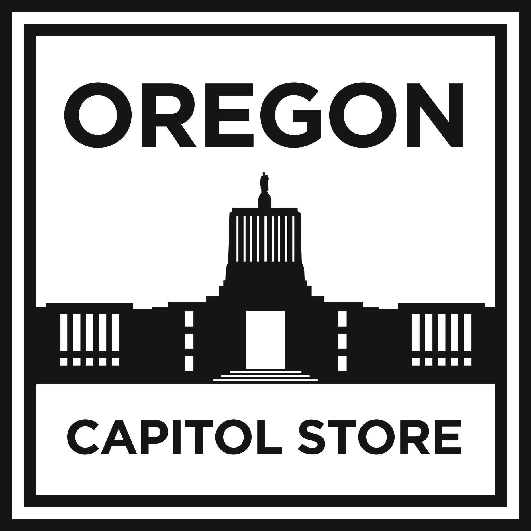 Oregon State Capitol Pin