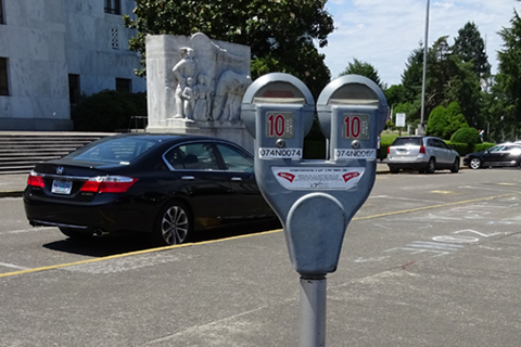 Picture of Parking Meter outside of Capitol Building