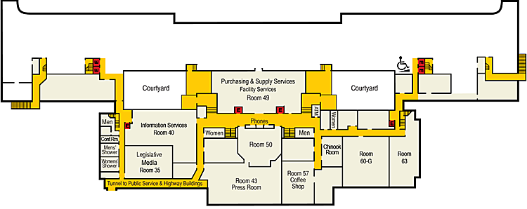 Image of Capitol Ground Floor Plan