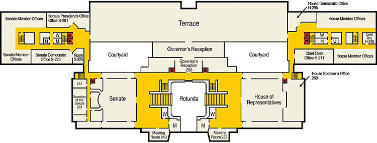 Image of Capitol Second Floor Plan