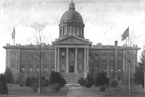 Picture of the second capitol