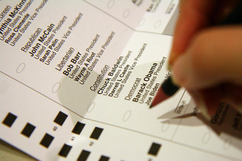 Picture of a ballot